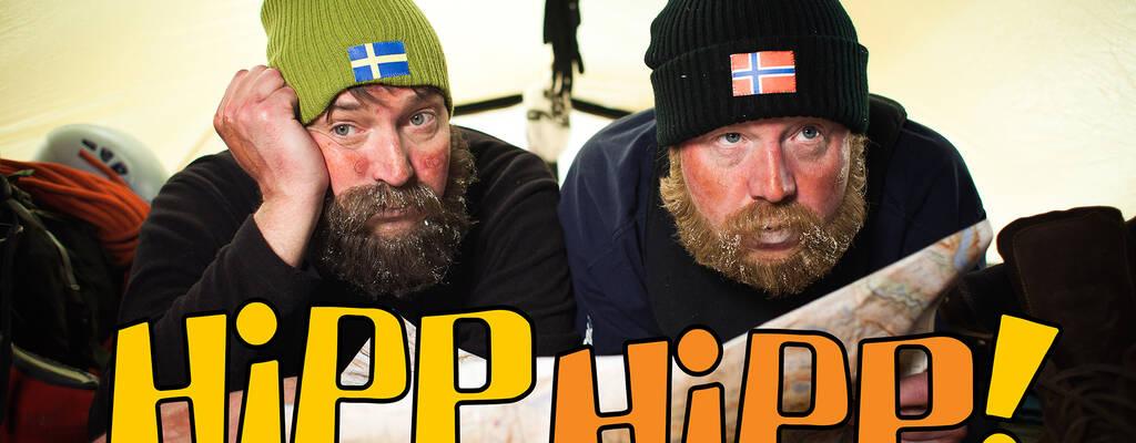 Johan Wester och Anders Jansson som Björn och Thorvald i Hipp Hipp.