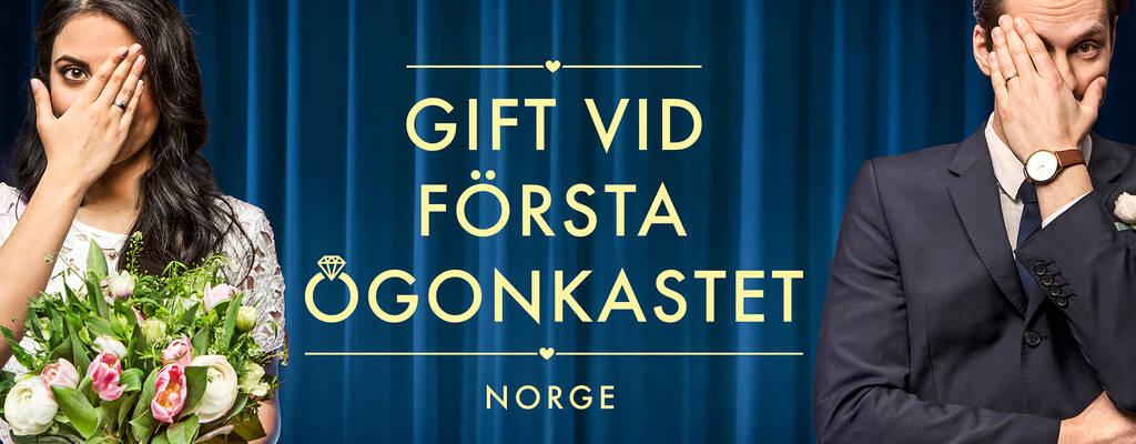 Gift vid första ögonkastet Norge.