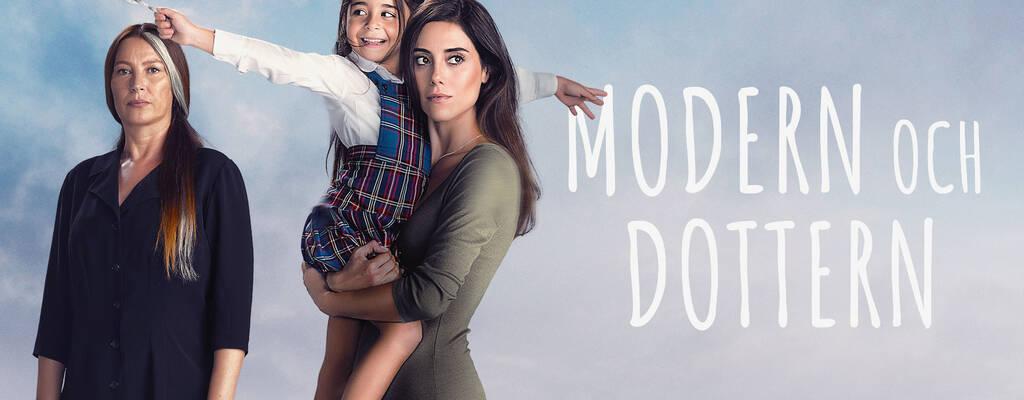 Gonul Aslan (Vahide Perçin), Melek Akcay (Beren Gokyildiz) och Zeynep Günes (Cansu Dere) i serien Modern och dottern.