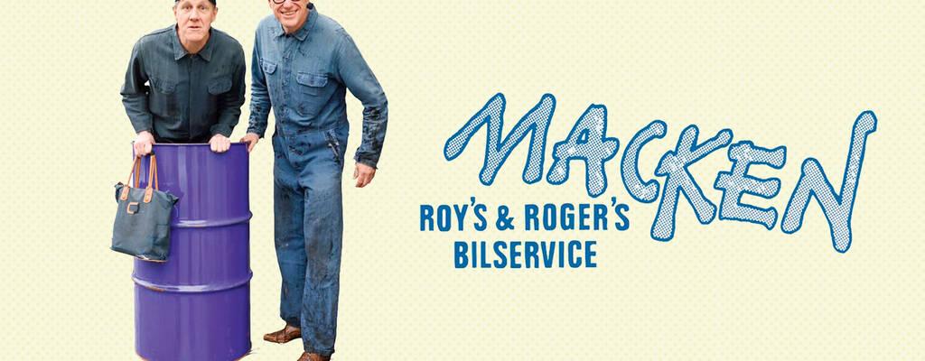 Roy (Anders Eriksson) och Roger (Jan Rippe) i Macken.