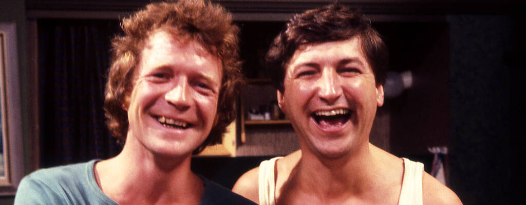 Skyll inte på mig - komediserie med bl a Magnus och Brasse från 1978.