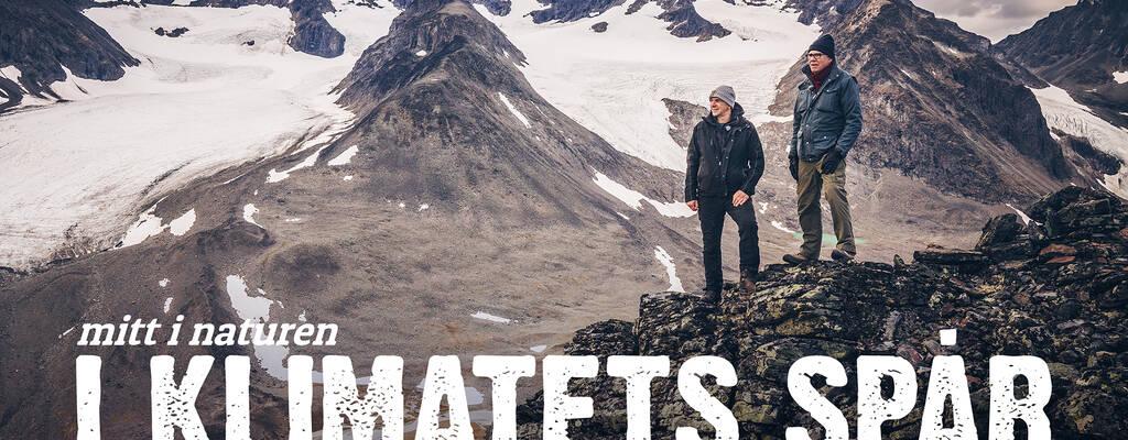 I klimatets spår. Anders Lundin och Henrik Ekman.