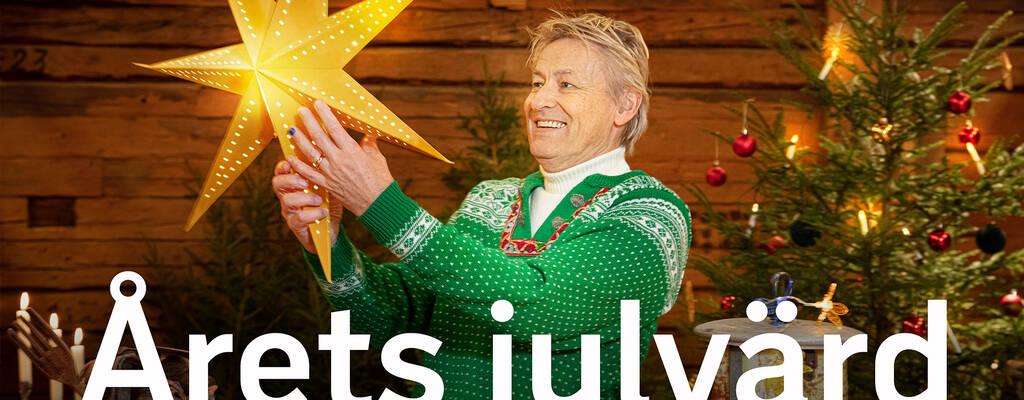 Lars Lerin är årets julvärd i SVT.