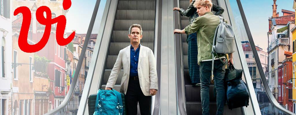 Douglas (TOM HOLLANDER), Connie (SASKIA REEVES) och Albie (TOM TAYLOR).