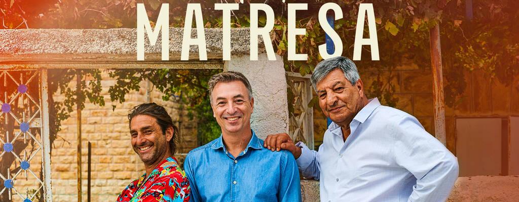 Pappa Seif tar med sig bröderna Tareq och Zafer till sin hemstad Jerusalem.