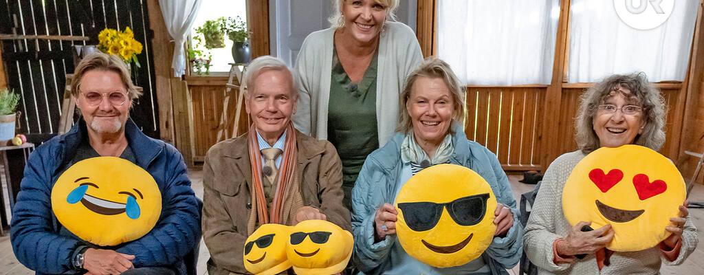 Siw Malmkvist, Arja Saijonmaa, Carl Jan Granqvist och Johan Rabaeus. Kattis Ahlström är vägvisare och inspiratör.