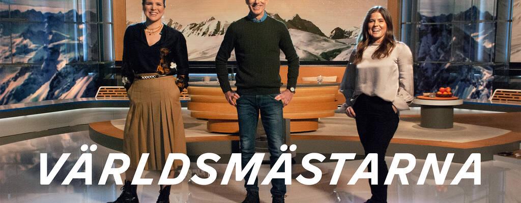 Anja Pärson, Ingmar Stenmark och Pernilla Wiberg