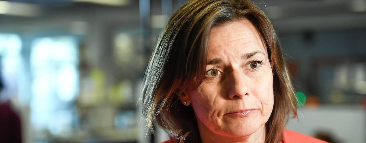 Miljöpartiets språkrör Isabella Lövin.