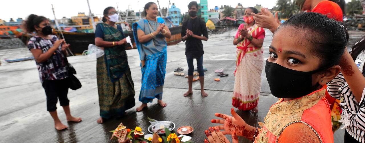 Flicka i Indien