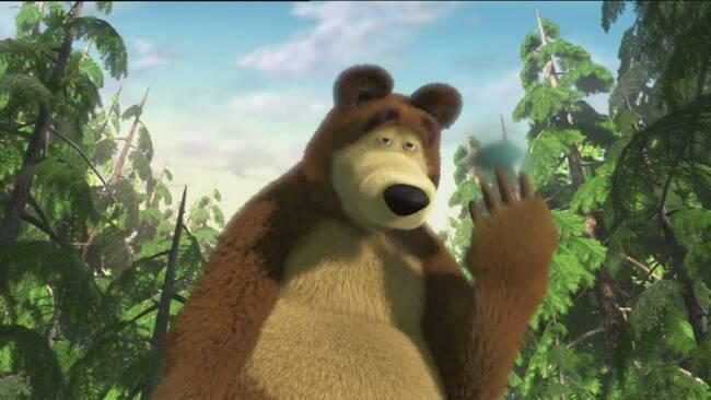 svt play masha och björnen