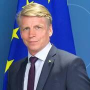 Finansmarknads- och bostadsminister Per Bolund (MP).