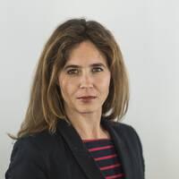 SVT:s reporter Karin Fagerlund Jerrstedt