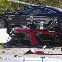 29-åringens leasade Ferrari exploderade i oktober.