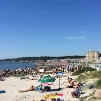 Fria bad i Helsingborg är en populär badplats.