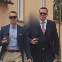 Christoffer Dulny och Daniel Friberg