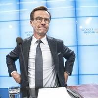 Ulf Kristersson träffar talmannen