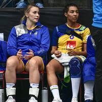 Filippa Idéhn, Isabelle Gulldén och Jamina Roberts.