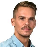 Petter Öhrling, reporter på SVT Sport.