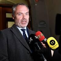 Jan Björklund efter mötena med Stefan Löfven (S) och Ulf Kristersson (M)