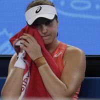 Rebecca Peterson har spelat färdigt i Australian Open.