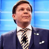 Talman Andreas Norlén håller presskonferens efter statsministeromröstningen