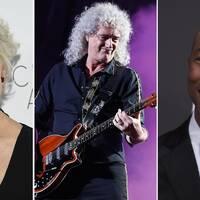 Helen Mirren, Brian May och Pharrel Williams.