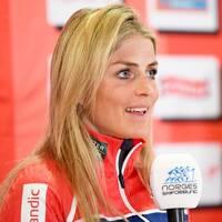 Therese Johaug är en självklar favorit i lördagens skiathlon.