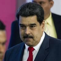 Vita huset och president Maduro.