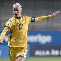 Caroline Seger och hennes landslagskamrater möter Sydkorea i VM-genrepet i sommar.