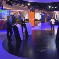 Toppkandidaterna Karin Karlsbro (L), Sara Skyttedal (KD) och Heléne Fritzon (S) debatterar EU:s budget.