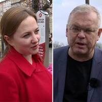 Väljare och Bert Sundström