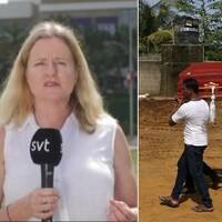 SVT:s Ulrika Bergsten rapporterar från Sri Lanka.