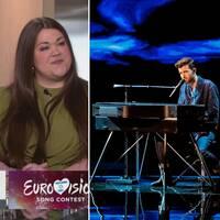 Mellofantasten Elin Holmström och veteranen Lina Hedlund gästade Morgonstudion för att prata Eurovision song contest.