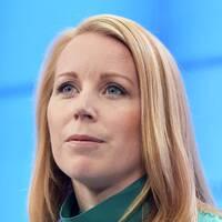 Centerpartiets partiledare Annie Lööf (C).