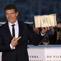 Antonio Banderas vann Bästa manliga skådespelare under filmfestivalen i Cannes.