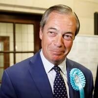 Brexit-partiet med Nigel Farage har gjort ett sensationellt starkt val och når över 30 procent av rösterna