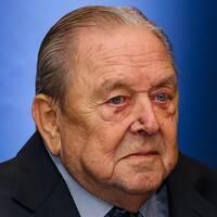 Lennart Johansson begravs på onsdag eftermiddag i Katarina kyrka i Stockholm. Han blev 89 år gammal.