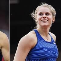 Andreas Kramer och Michalea Meijer är klara för VM i Doha
