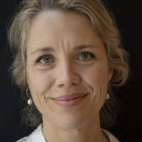Mia Ahlberg, som är en av projektledarna, är också ordförande i Barnmorskeförbundet.