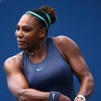 Ryggen sätter stopp för Serena Williams.