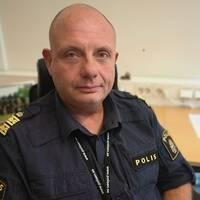 Peo Söyseth, tf polismästare i polisområde Kalmar Kronoberg.
