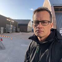 Jonas Heiman är tränare och styrelseledamot i Västra Frölunda Trampolinklubb.
