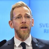 Jakob Forssmed, ekonomisk-politisk talesperson för KD.