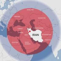 Räckvidden för Irans robotar bedöms täcka hela Mellanöstern