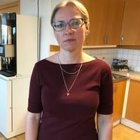 Anna Lindh-Wikblad har tagit över och är nu tillfordnad kommundirektör