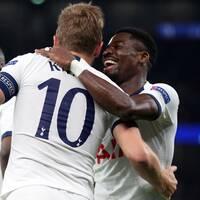 Tottenham tog första CL-vinsten för säsongen.