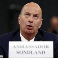 USA:s EU-ambassadör Gordon Sondland.