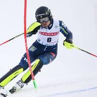 Anna Swenn Larsson stod för en stabil första insats i Levi.