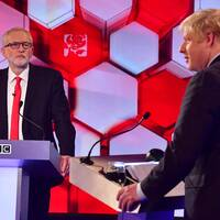 Corbyn och Johnson möttes i BBC:s partiledardebatt inför det brittiska valet.