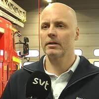 Bild på Anders Andersson på räddningstjänsten